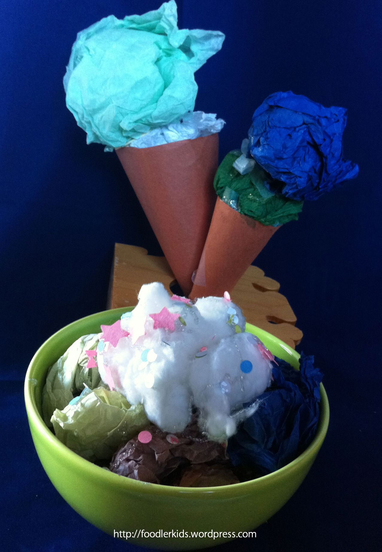 Last Week It Was My Turn To Bring Craft Toddler Playgroup I Had Seen A Paper Ice Cream Cone In The Summer Themed Window Display At Our Local Library And