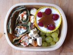 Wrap, tofu and yogurt Bento Lunch