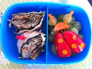 Ladybug Bento lunch - version 1