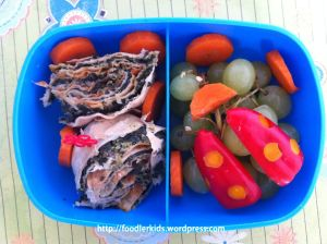 Ladybug Bento lunch - version 2