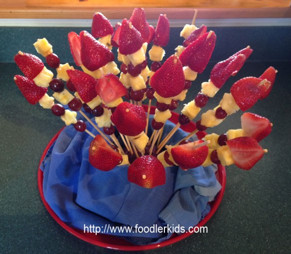 Homemade Edible Arrangment